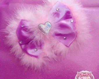 Fluffy bow