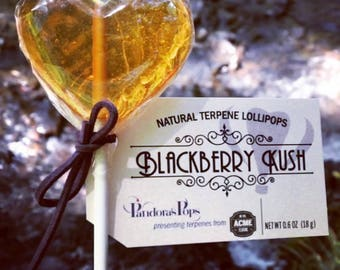 TERPENE LOLLIPOPS: Delicious organic gift or adventure addition. Experience some of the health positives of an infused candy