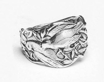 "Spoon Ring: "" Patricia"" by Silver Spoon Jewelry"