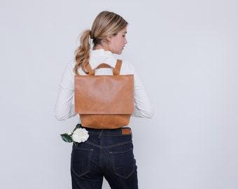 Leather Backpack Laptop, Laptop Messenger Bag, Woman Backpack, Laptop Backpack, Messenger Backpack, Zipper Backpack, Leather Messenger