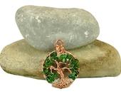 Emerald green tree-of-lif...