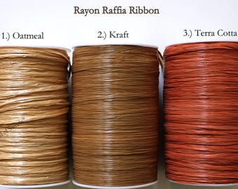 RAFFIA RIBBON - add to lollipops, cake pops or any party favor