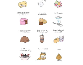 Foods of Broad City - Digital Download