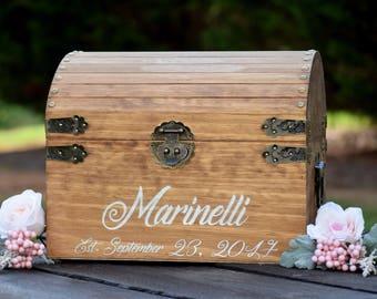 Laser Engraved Card Holder - Rustic Wooden Card Box - Rustic Wedding Card Box - Rustic Wedding Decor - Shabby Chic Card Box Wedding Card Box