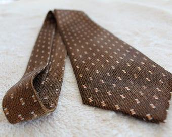 GIORGIO ARMANI Cravatte 100% Silk necktie- Gold and yellow tones - Silk Tie. 57 Inches-