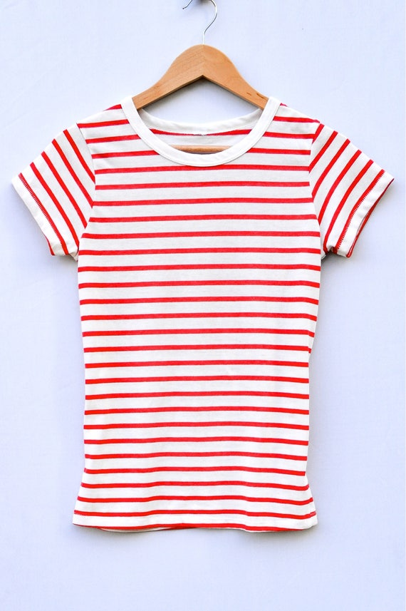 Simply Striped Gameday Tee