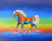 Little Pony Print Colorfu...