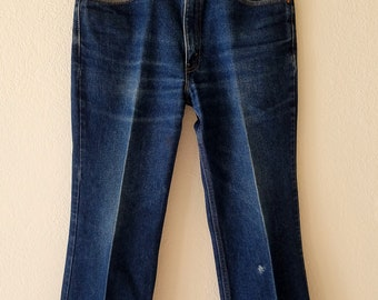 Levis Jeans 517 Boot Cut Denim 80s Made in USA 34x29