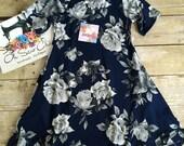 Maddie Floral Dress, Brushed Poly Dress, Toddler Swing Dress, Girls Pocket Dress
