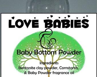 6 oz Baby Bottom Powder by Love Babies