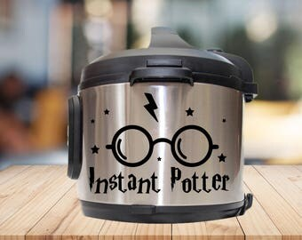 Instant pot Decal, instant potter, , IP decal, crock pot decal, pressure cooker