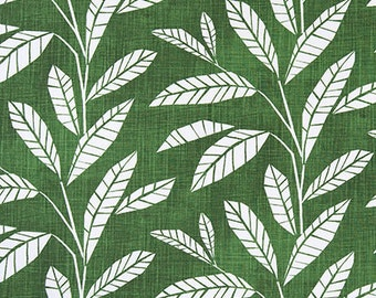 Leaves Pine Designer Fabric Home Decor Fabric Upholstery Fabric - 1/2 Yard