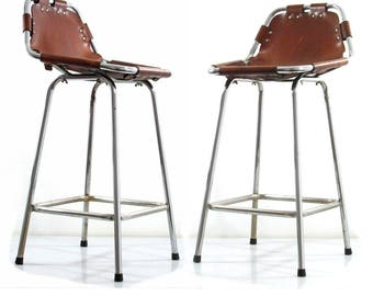 Charlotte Perriand Les Arcs bar stools - sixties, chairs, guariche, eames, rietveld, cadovius, mategot, braakman, prouve, jacobsen, jouve
