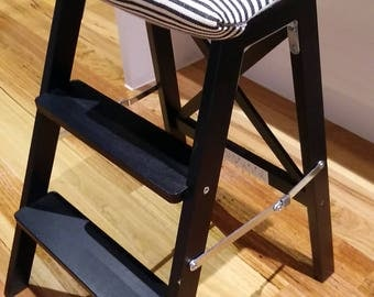 Cushion seat for Ikea Stepladder