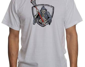 """Lacrosse """"Grim Reaper"""" Player Shirt 