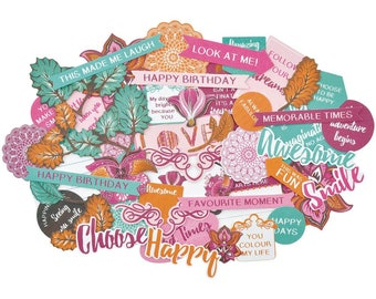 Kaisercraft Bombay Sunset Collectables Die Cut Shapes