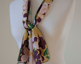 Small Satin Scarf