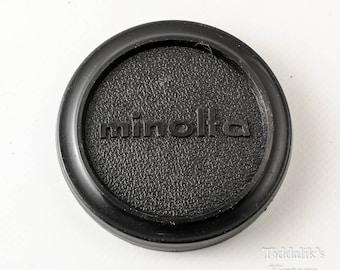 Minolta 57mm Original Vintage Push Fit Plastic Front Lens Cap