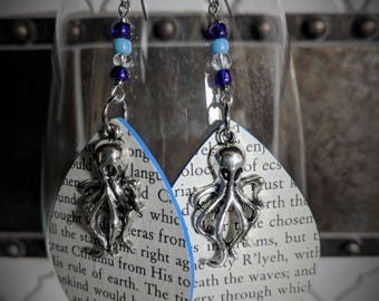 H.P. Lovecraft Call of Cthulhu earrings