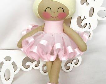 Ballerina Doll -Fabric Dolls -Cloth Baby Doll- Dancing Doll