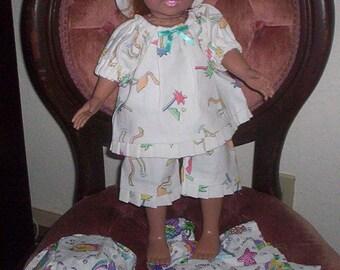 "American Girl, 18"" Doll Matching Hat Dress or Short Set!"