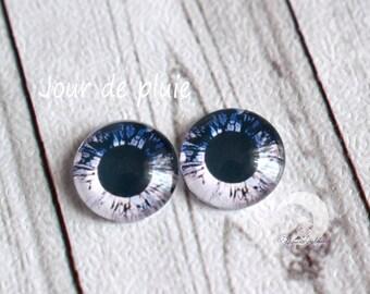 Pullip Eyechips glass - size 13mm - rainy day