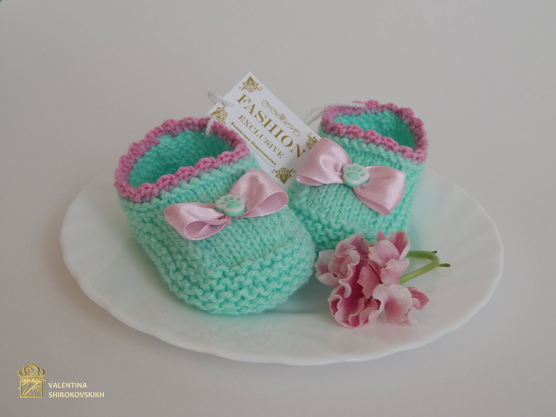 Hand knitted baby slippers socks newborn socks socks for zoom bankloansurffo Image collections