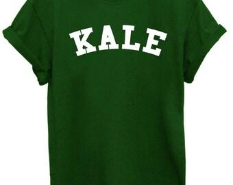 Kale Unisex T-shirt - Plant Based - Vegan - Veggie - Friends