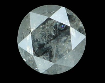 4.20 MM 0.31 Ct Natural Loose Diamond Round Rose Cut White Color L8772