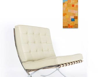 Little Italy.  Acrylic on gallery wrapped canvas painting by Brenda Helt. (Chair not included.)