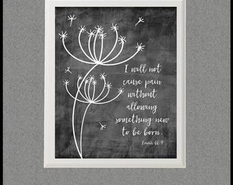 Bible verse art etsy isaiah 669 bible verse art print encouraging quote sympathy gift negle Image collections