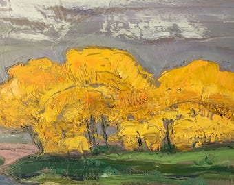 Landscape Painting by listed artist: Don Burgess