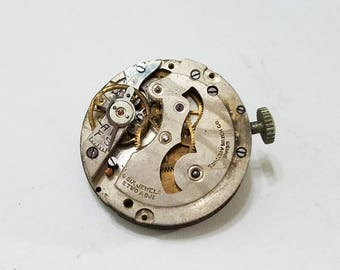 Vintage, Tancony, Cadet, Movement, Wristwatch, Steampunk, Altered Art, Jewelry, Beading, Supply, Supplies