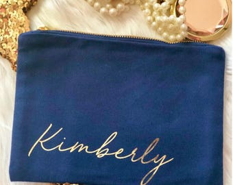 Personalized Makeup Bags, Bridesmaid Gift, Personalized Monogram Makeup Bag, Best Friend Gift, Personalized Gift, Bridal Party Gift