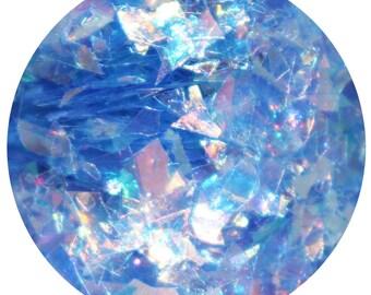 The Ice Queen | Blue Face, Body &  Hair Glitter | Festival Body Glitter | Glitter Lambs Chunky Loose Body Glitter | 15 mL Jar