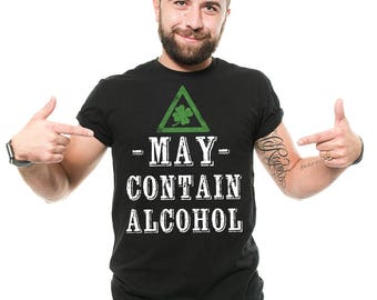 St Patrick's Day T-Shirt Funny St Patty Day Irsh Pub Drinking Party Shamrock Clover Shenanigans Cool Tee Shirt