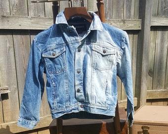80s Exchange Unlimited Acid Wash Jean Jacket