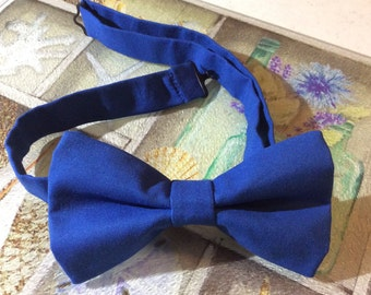 royal blue bow tie cotton bow ties for men wedding accessories groom ties groomsmen bow ties bowties pre tied clip on