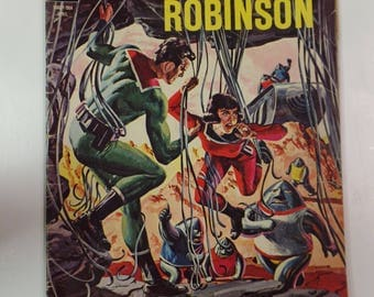 Gold Key Comics Space Family Robinson ( Lost in Space ) # 12 April 1965 Vintage Comic Book