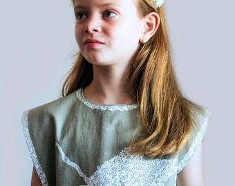 Handmade 6 year old girl dress