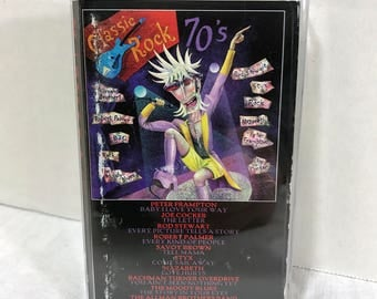 Classic Rock 70's cassette tape 1997 - Styx, Moody Blues, Allman Brothers, Joe Cocker, Savoy Brown