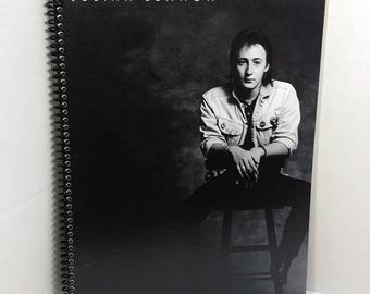 Julian Lennon Album Cover Notebook Handmade Spiral Journal
