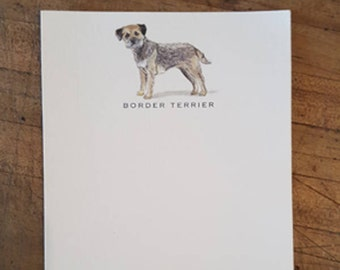 Border Terrier Note Card Set