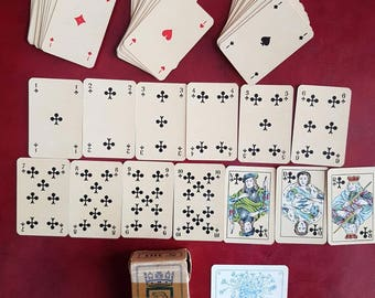 Playing Cards Vintage French