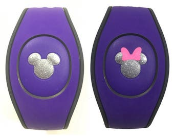 Disney Magic Band Decal 2.0 Mickey or Minnie Center