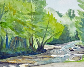 Sturgeon River ~ Giclee Print