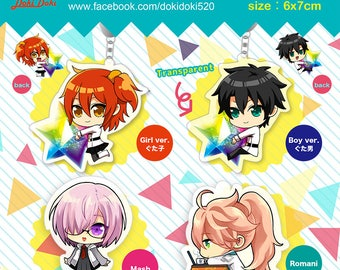 Fate/Grand Order Acrylic Keychain Charms