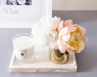 1pc White Blush Pink Peonies Peony Silk Floral Arrangement Flowers Home Decor Wedding Table Centerpiece