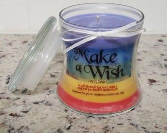 MAKE A WISH scented candle