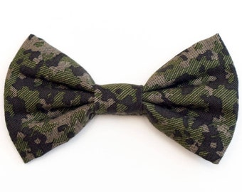 The Stryker Bow Tie — Dog Bowtie, Made in Brooklyn, Bowtied, Rainbow, Wedding Clothes, Ring Bearer, Collar, Camo, Camouflage, Army
